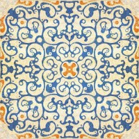 Mind The Gap Wallpaper  - Spanish Tile